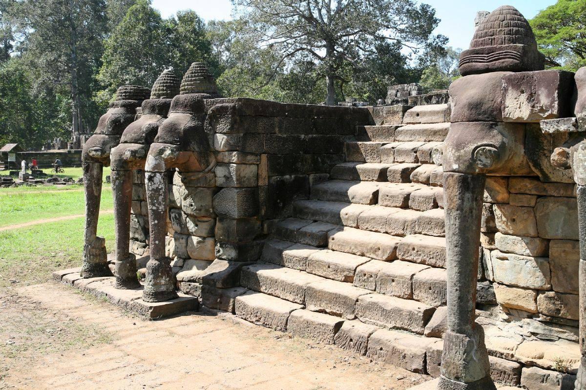 image de la terrasse des éléphants